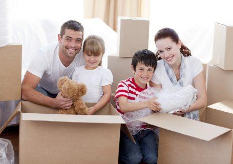 преместване на дом